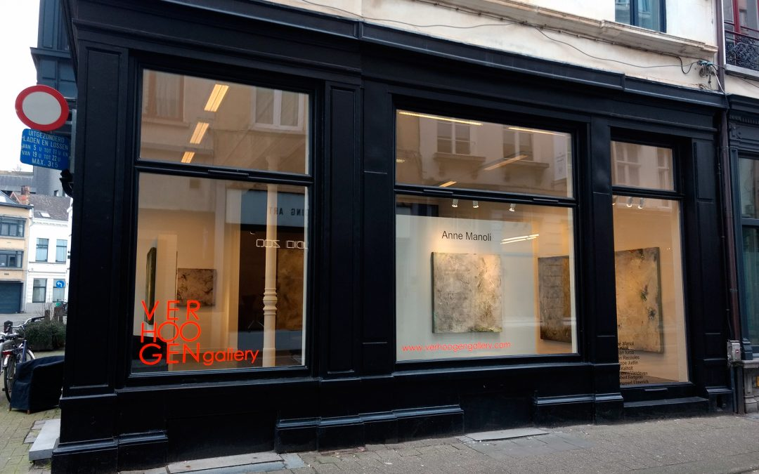 Exposition Anne Manoli à Verhoogen Gallery, Anvers