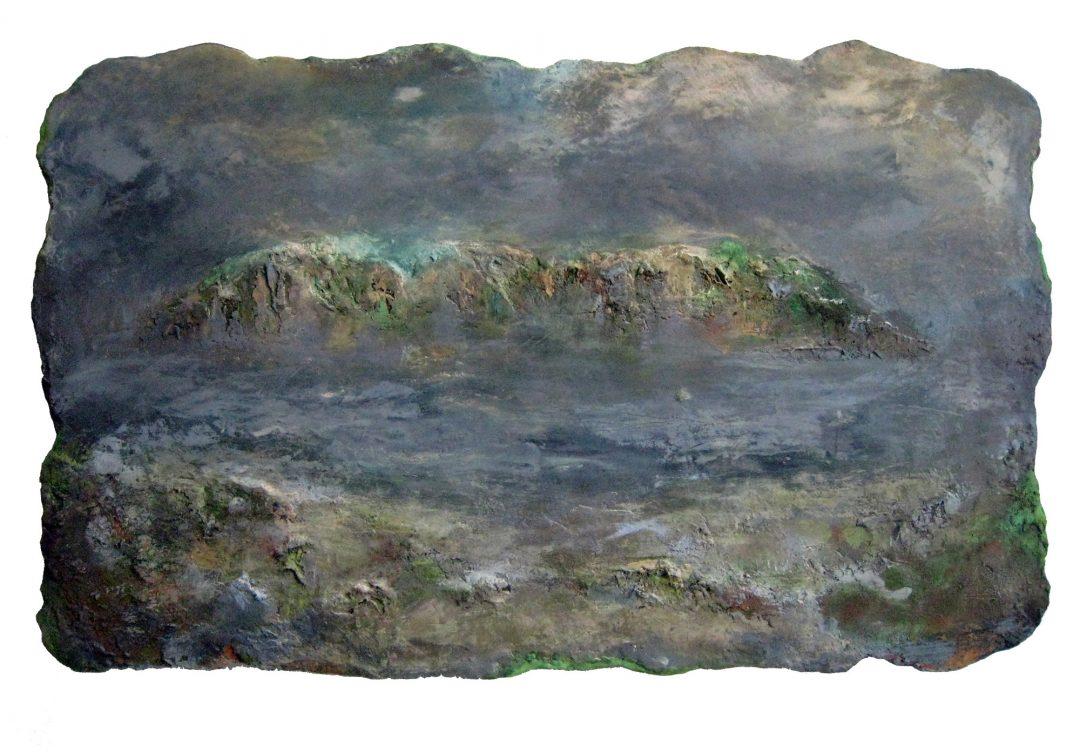 anne-manoli-peinture-2012-cire-emulsion-huile-sur-toile-86cmx136cm-la-passagere-collection-particuliere-