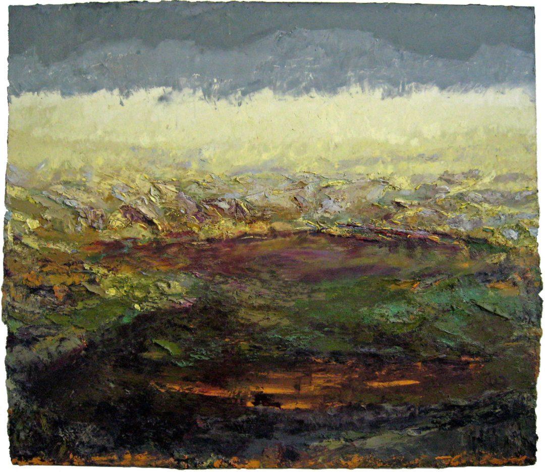 anne-manoli-peinture-2008-huile-sur-toile-161cmx192cm-terre-d-eau-