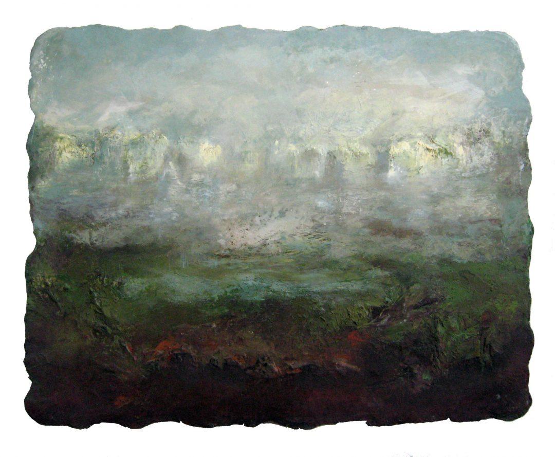 anne-manoli-peinture-2011-cire-emulsion-huile-sur-toile-122cmx156cm-ophelie-la-passagere-