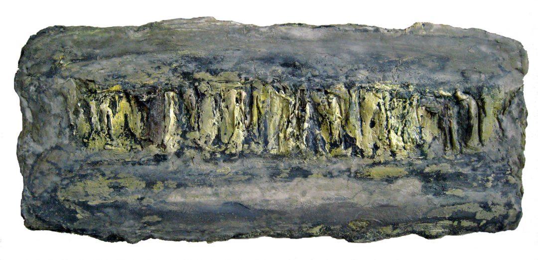 anne-manoli-peinture-2009-emulsion-huile-sur-toile-24cmx56cm-vert-presque-tendre-collection-particuliere-