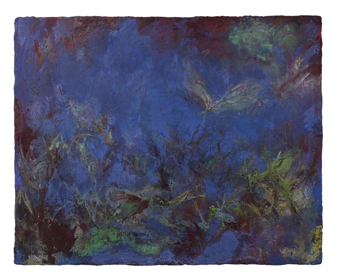 anne-manoli-2016-peinture-cire-emulsion-et-huile-sur-toile-165cmx202cm-serie-sauvage-est-le-vent-galerie-nicolas-deman-paris-