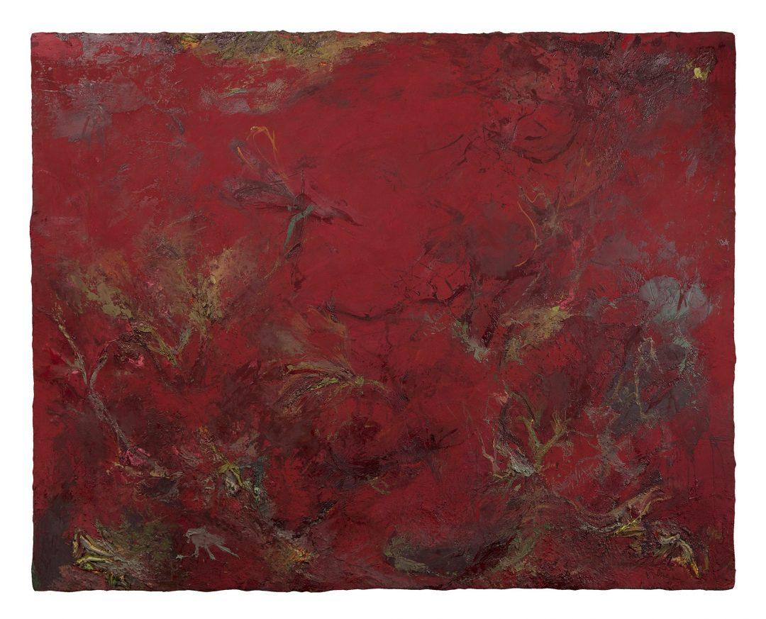 anne-manoli-2017-peinture-cire-emulsion-et-huile-sur-toile-157cmx197cm-serie-sauvage-est-le-vent-galerie-nicolas-deman-paris-