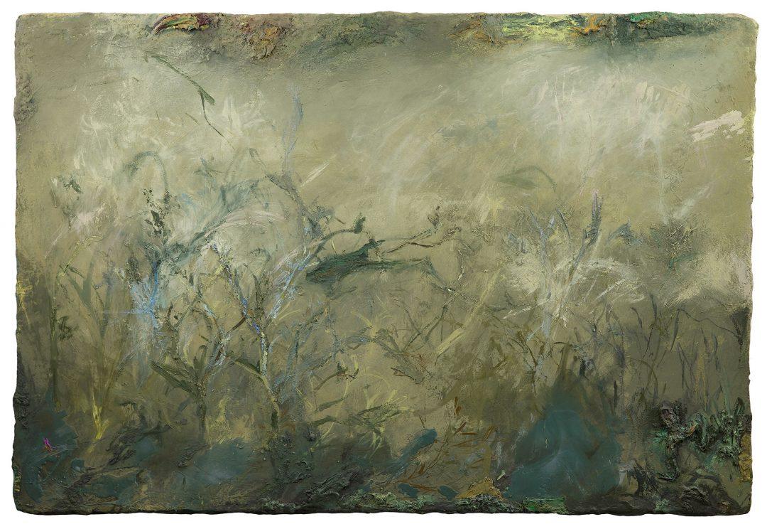 -anne-manoli-peinture-2016-cire-emulsion-et-huile-sur-toile-133cm-x-196cm-serie-le-banquet-des-nymphes-galerie-nicolas-deman-paris-