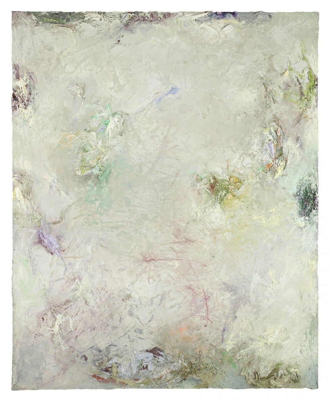 anne-manoli-2018-peinture-huile-emulsion-et-cire-sur-toile-165cmx133cm-serie-les-moires-galerie-nicolas-deman-paris-