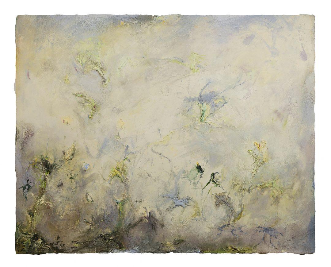 anne-manoli-2017-peinture-cire-emulsion-et-huile-sur-toile-158cmx198cm-serie-sauvage-est-le-vent-galerie-nicolas-deman-paris-