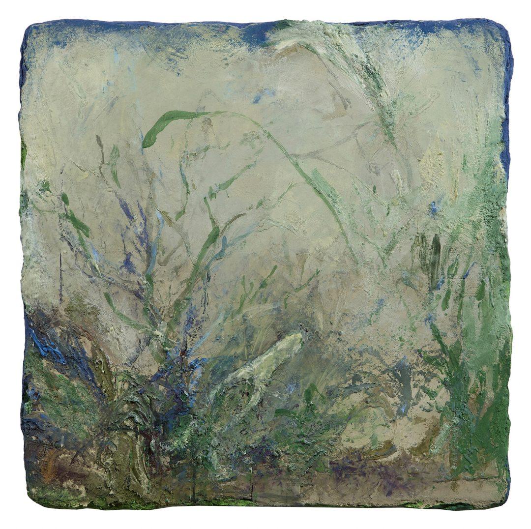 anne-manoli-peinture-2016-cire-emulsion-et--huile-sur-toile--73cm-x-73cm-serie-le-banquet-des-nymphes-galerie-nicolas-deman-paris-collection-particuliere-