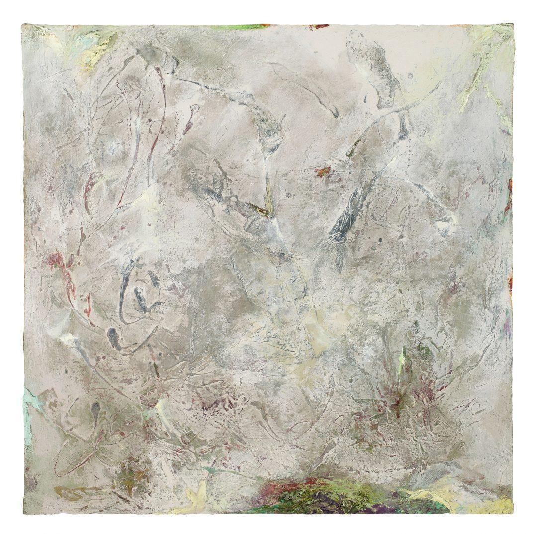 anne-manoli-2018-peinture-huile-emulsion-et-cire-sur-toile-103cmx103cm-serie-les-moires-galerie-nicolas-deman-paris-