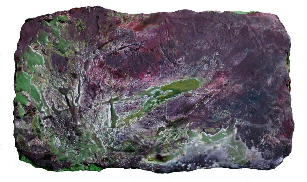 anne-manoli-peinture-2016-huile-émulsion-et-cire-sur-toile-30cm-x-53cm-serie-le-banquet-des-nymphes-galerie-nicolas-deman-paris-collection-particuliere-